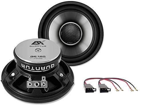 ESX Lautsprecher kompatibel für VW T4 Multivan 1990-2003 Fond Heck 2-Wege