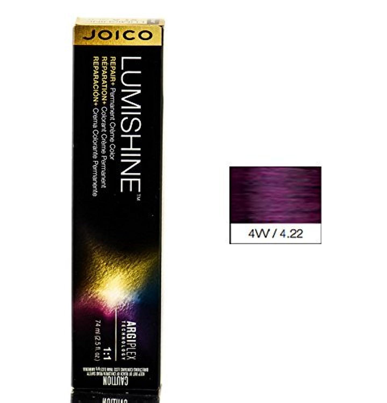 Joico Lumishine永久クリーム色4VV / 4.22、2.5オンス