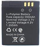 Batería Recargable de 3.7V 350mAh para Reloj Inteligente-PC 1