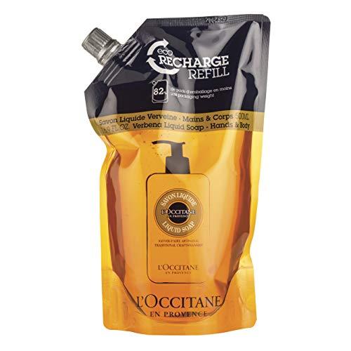 L'Occitane Shea Hands & Body Verbena Liquid Soap Refill, 16.9 fl. oz.