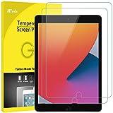 JETech Protector de Pantalla Compatible con iPad 8/7 (10,2 Pulgadas, 2020/2019 Modelo), iPad Air 3 (10,5 Pulgadas, 2019) y iPad Pro 10,5 (2017), Vidrio Templado, 2 Unidades
