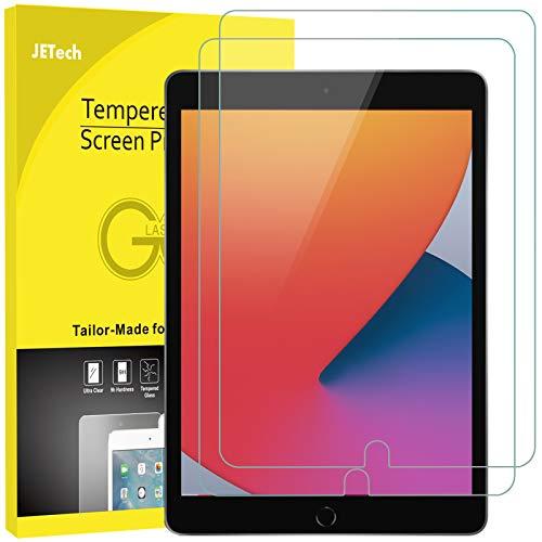 JETech Panzerglas Kompatibel mit iPad 8 7 102 Zoll Modell 2020 2019 iPad Air 3 105 Zoll 2019 and iPad Pro 105 2017 Gehartetem Glas Displayschutzfolie 2 Stuck