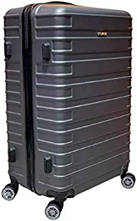 Excellent India Luggage Bag  Trolley Luggage Bags  Big: 78 cms   1 Years Warranty. (Smoke Grey, 31 inches: 78cms)