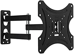 Vemount TV Wall Mount Bracket for 19-42 inch LED LCD Plasma Flat Screen Monitors up to 44lbs with Cable Hook for Cable Organization, VESA 200x200mm with Retractable Full Motion Articulating Arms