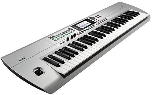 Korg i3 Music Workstation Arranger Keyboard, Silver
