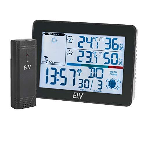ELV Funk-Wetterstation WS50, inkl. Außensensor
