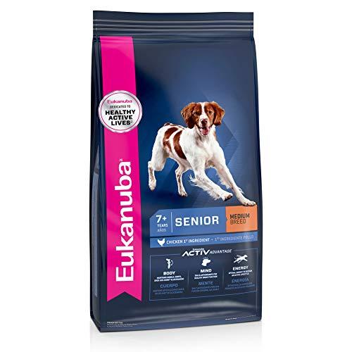 Eukanuba Senior Medium Breed Dry Dog Food, 30 lb. bag