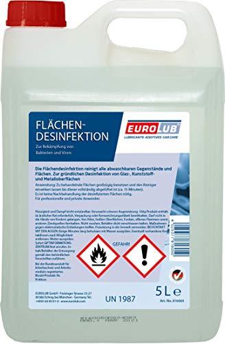 EUROLUB Flächendesinfektion, 5 Liter