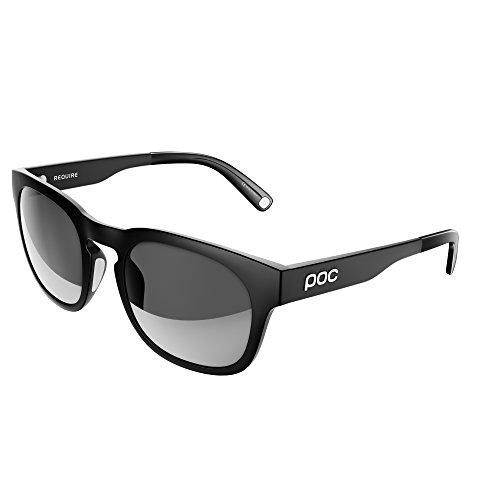 POC Require Gafas, Unisex Adulto, Negro (Uranium Black), 11.8