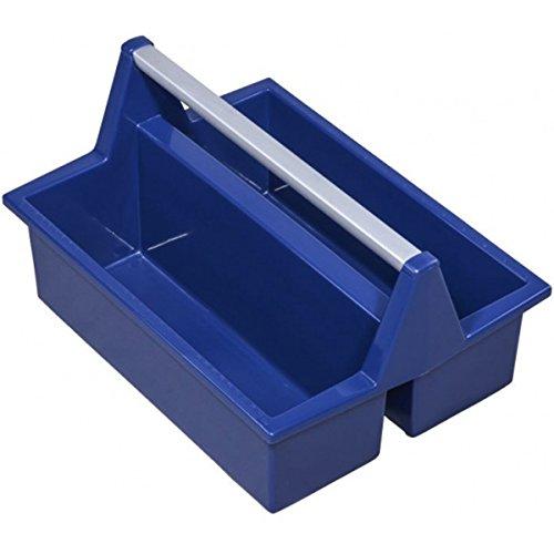 McPlus Carry >P< 40, blau, PP, Mehrzweck-Tragekasten, Zimmermanns-Tragekasten