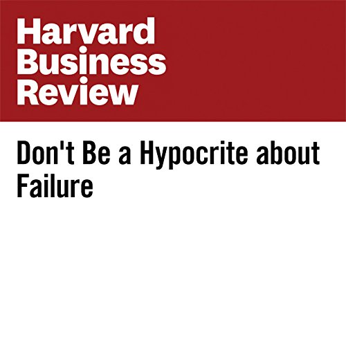 Don't Be a Hypocrite About Failure copertina