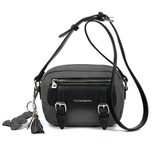 Lulu Castagnette [Q9172] - Reporterbeutel 'Lulu Castagnette' schwarz - 21x14x7 cm.