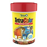 Tetra Tropical Color Flakes 0.42 Ounce, Clear Water Advanced Formula (77157)
