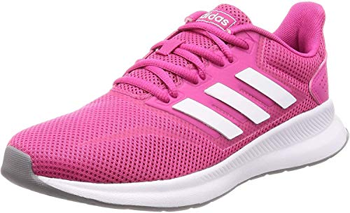 adidas Women\'s Falcon Running Shoes, Red (Real Magenta/Ftwr White/Grey Three F17), (UK -5) (EU - 38)
