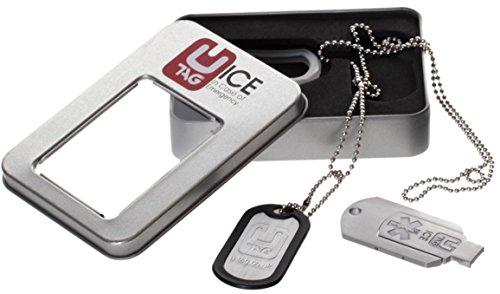 UTAG Notfall-USB-Stick DOGTAG in der Geschenkbox