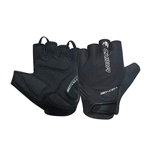 Chiba BioXCell Air Fahrrad Handschuhe kurz schwarz 2020: Größe: L (9)