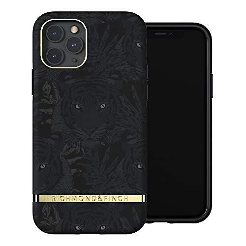 RICHMOND & FINCH Custodia Per Telefono Progettata Per iPhone 11 Pro Custodie, Tigre Nero Custodia, Custodie a Prova Di Caduta, Bordi Rialzati Antiurto, Custodia Protettiva