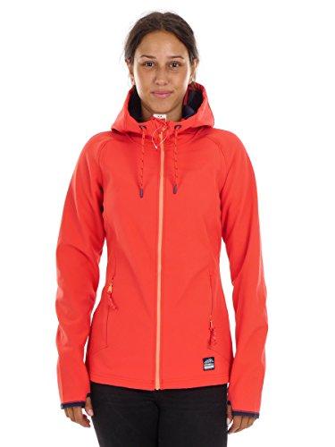 O'Neill Softshelljacke Funktionsjacke Jacket rot Solo atmungsaktiv (S)