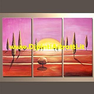 Pintados Abstractos Pintados a Mano del Caribe, Multicolor, 80x 120cm