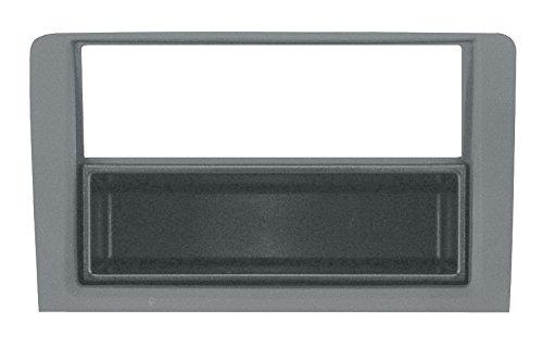 PH 3/319 Mascherina con foro ISO-Doppio ISO- Doppio DIN colore grigio Musa