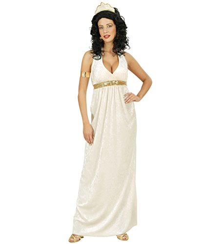 WIDMANN WDM56133 - Costume Dea Greca in Velluto, Bianco, Large