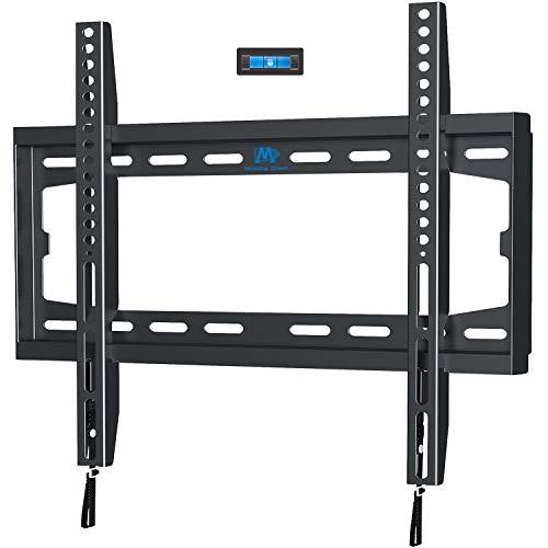 Mounting Dream TV Wandhalterung Starr Fernseher Wandhalterung Ultraslim für die meisten 81-127cm (32-50 Zoll) LED, LCD, OLED, Plasma TV mit VESA 75x75-400x400mm bis zu 45,5kg, TV Halterung MD2361-K-03