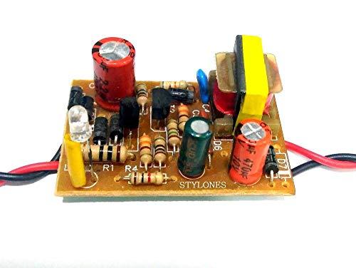 DAOKI High Voltage DC-DC Boost Converter 45V-390V 110V//220V ZVS Capacitor Charging Single Output Boost Module