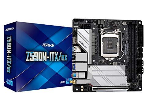 ASRock Intel 第10・11世代CPU(LGA1200)対応 Z590 チップセット搭載 Mini-ITX マザーボード 【国内正規代理店品】 Z590M-ITX/ax