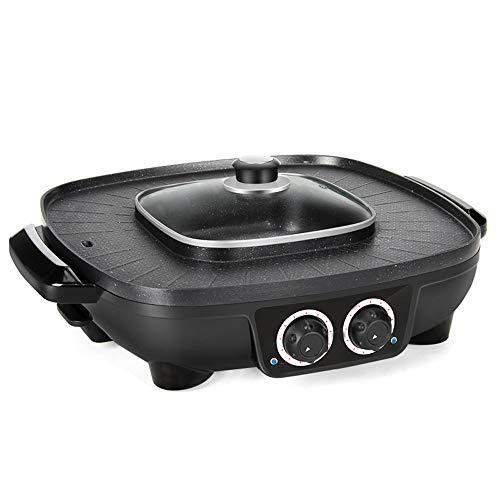 WNN-URG - Barbacoa eléctrica para exteriores Hot Pot Integrated Cooker Pot 1900...