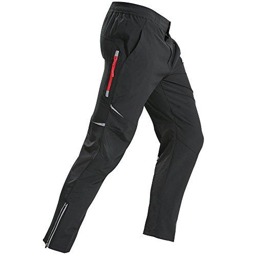 KORAMAN Herren Fahrrad Langarm Radhose/ beiläufige Hosen/ sehr leicht atmungsaktiv/für Sommer und Frühling (Farbe 3, L)