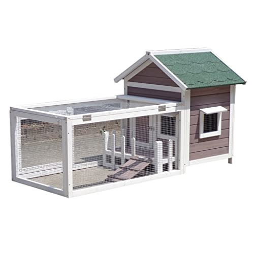 Casetas para perros Casa para Perros Casa para Mascotas Madera Maciza Casa para Perros Impermeable Y Lavable Casa para Perros De Invierno Al Aire Libre Perrera Grande