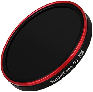 Fotodiox Pro WonderPana Go Neutral Density +8 (3 Stop ND) Filter for the GoTough WonderPana Go Filter Adapter System