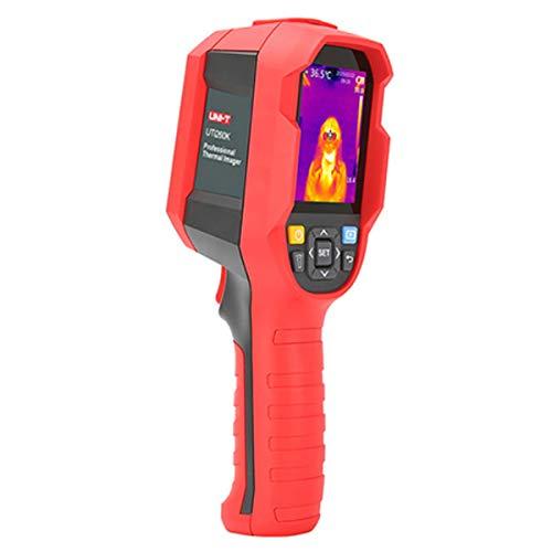 UNI-T UTi165K Cámara térmica, termómetro de cámara de visión térmica, cámara de fotos de mano con análisis de software de PC, interfaz USB tipo C, transferencia de imágenes en tiempo real