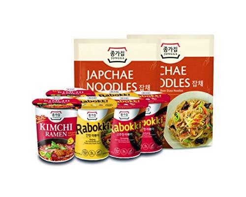 KOREAN FOOD BOX - JONGGA NOODLE SET