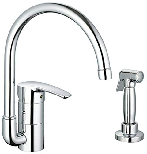 07495a3a31e GROHE 33 980 001 Eurostyle Kitchen Faucet with Hose and Spray ...
