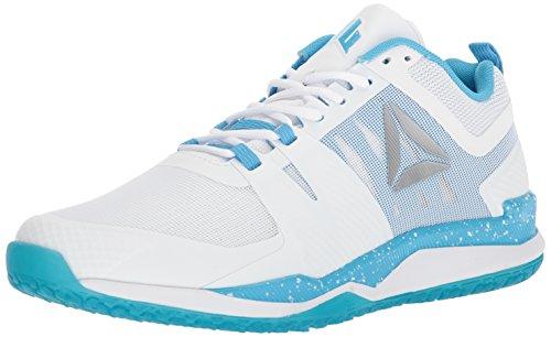 Reebok Men's JJ I Sneaker, White/Black/Blue Beam/Silver/TIN Gry/MED, 12 M US