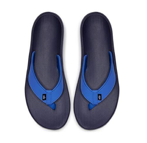 Nike Herren Kepa Kai Thong Dusch-& Badeschuhe, Mehrfarbig (Pacific Blue/White/Midnight Navy 400), 41 EU