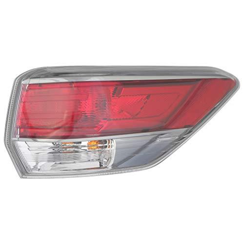 For 2014-2016 Toyota Highlander Rear Tail Light Passenger Side TO2805120 For 81550-0E100