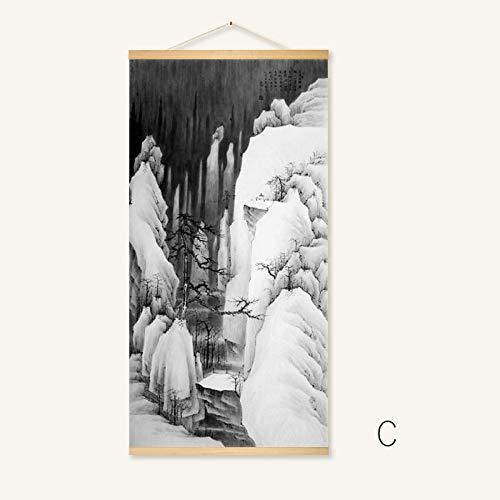 Abstrakte Landschaftslandschaftsartlandschaftsdekorationsmalerei