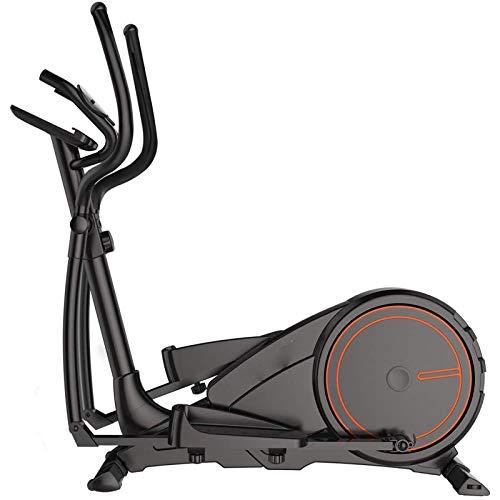 3-IN-1 Entrenador de entrenador de cruce elíptico para la bicicleta - Máquina de entrenamiento de pérdida de peso de cardio de fitness + sensores de pulso de frecuencia cardíaca Cinta de correr Spinni