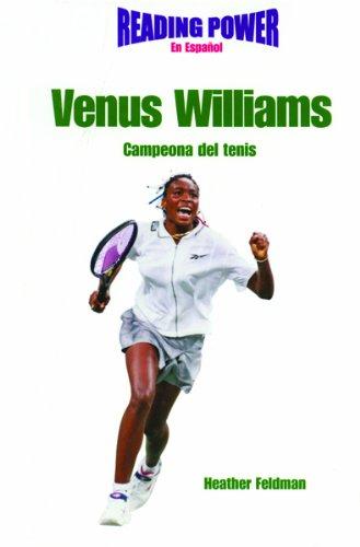 Venus Williams: Campeona Del Tenis/Tennis Champion (Superestrellas Del Deporte)