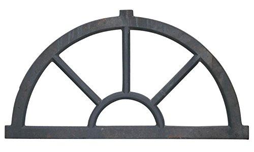 Stallfenster Fenster Scheunenfenster Eisen grau 63cm Antik-Stil Eisenfenster
