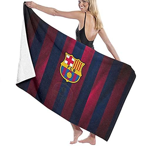 FC Bar-celo-na Toallas de playa ultra absorbentes toalla de baño de microfibra Picnic Mat para hombres mujeres niños