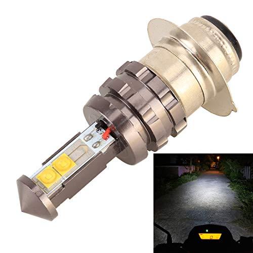 Hanks' Shop Scheinwerferlampen PX15D DC12V 5W 350LM 6000K Universal-Motorrad-Arbeitslicht-Scheinwerfer mit 4 3535 Lampenperlen