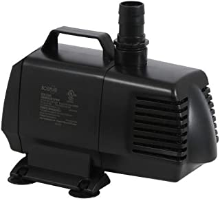 EcoPlus 2245 GPH Submersible Water and Hydroponic Pump