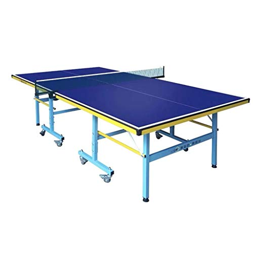 Great Deal! Professional Table Tennis Table Ping Pong Table - Folding, Space Saving Storage, Quick A...