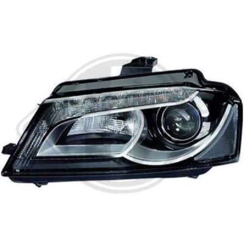 AUDI koplamp links Xenon A3 Sportback bouwjaar 2008-2012 met koplamp/lamptype D3S/H7