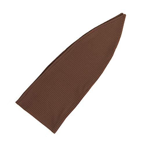 The Wrap Life Ribbed Stretch Bandie (Chestnut)