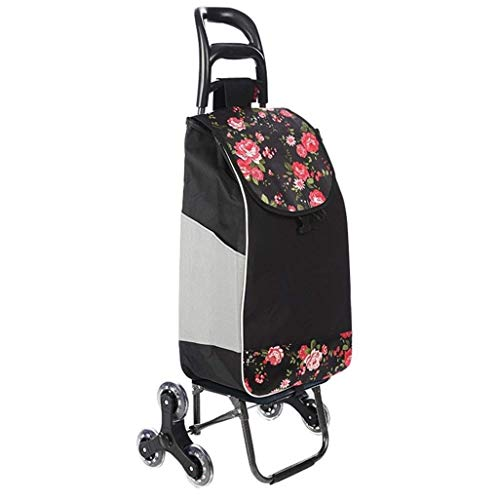 DJY-JY Small carts, shopping carts, folding portable carts, and light household carts.Size: 35 * 20 * 55CM