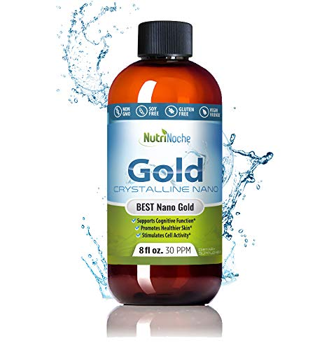 Nutrinoche Colloidal Gold - The Best Colloidal Gold Mineral Supplement - 30 PPM